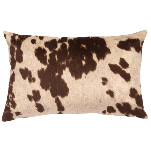 Udder Brown Rectangle Pillow