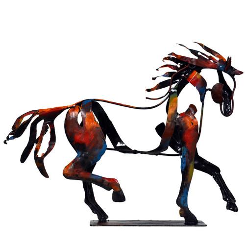 Walking Horse Sculpture
