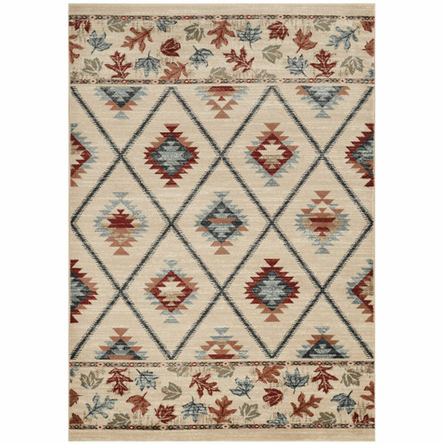 Wasatch Ivory Rug - 3 x 5