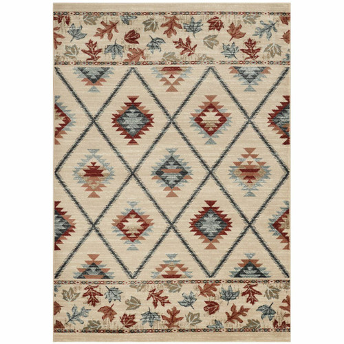 Wasatch Ivory Rug - 8 x 10