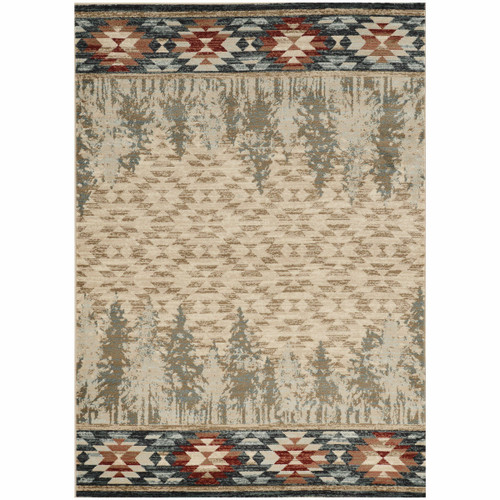 Wasatch Pines Rug - 3 x 5