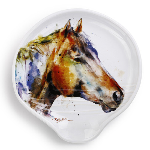 Watercolor Horse Spoon Rest