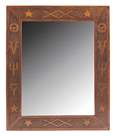 Western Brands Super Jumbo Mirror