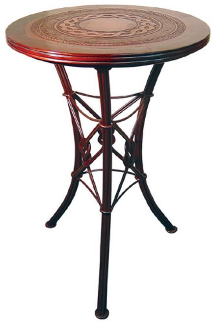Western Iron Bistro Bar Table