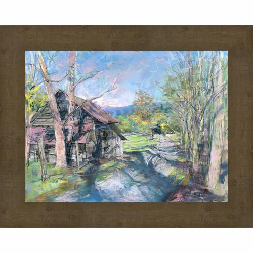 Western Memoir Framed Canvas