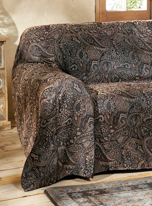 Western Paisley Beaumont Chair Cover