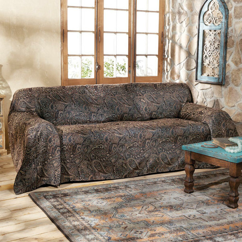 Western Paisley Beaumont Sofa Cover