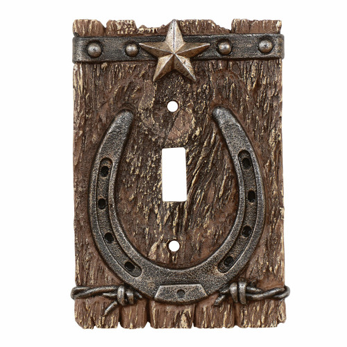 Western Ranch Single Switch Plate