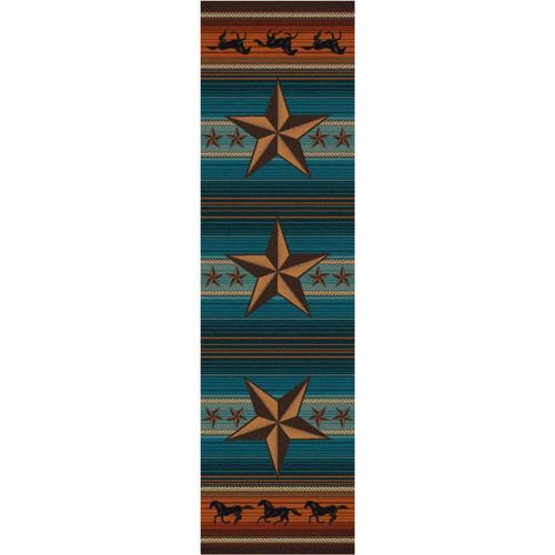 Western Star Desert Rug - 2 x 8