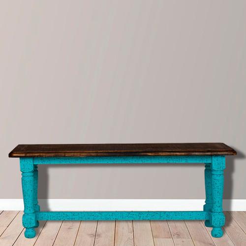 Weston Bench - Turquoise