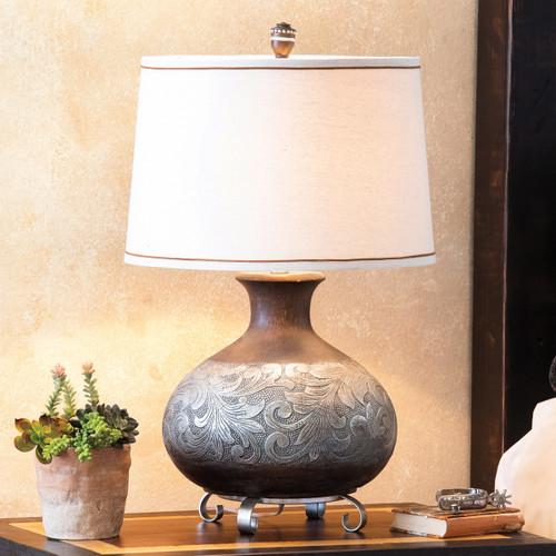 Weston Scrollwork Table Lamp