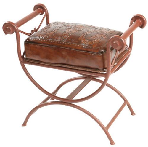 Western Vanity Bench