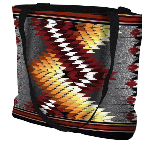 Whirlwind Fire Tote Bag