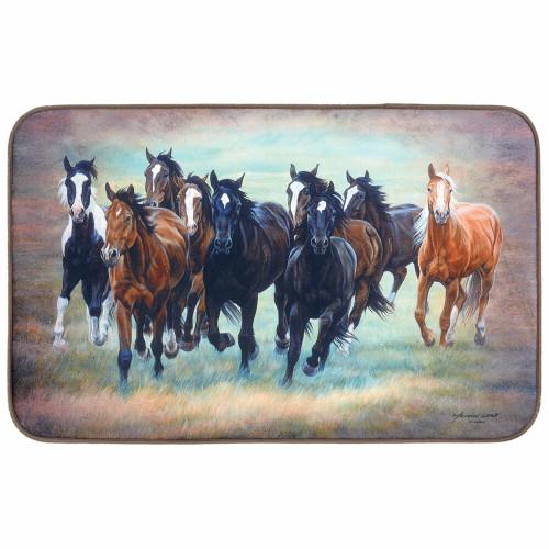 Wild Horses Comfort Floor Mat