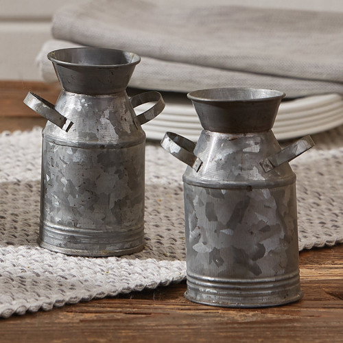 Dairy Can Salt & Pepper Shakers