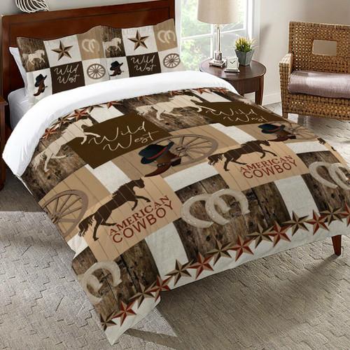 Wild West Living Comforter - Queen