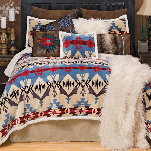 Wind River Plush Bed Set - Twin