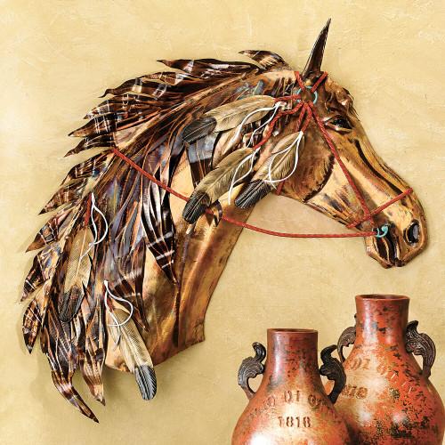 Wind Runner Horse Wall Hanging