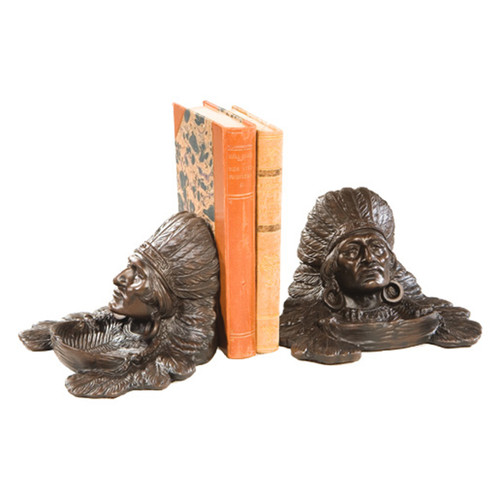 Wise Chief Bookends