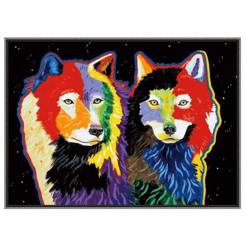 Wolf Constellations Wall Art