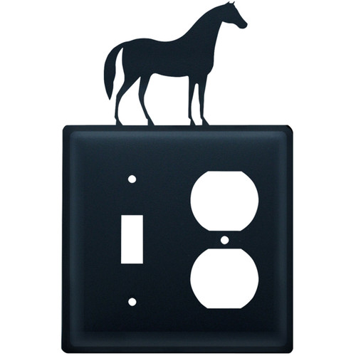 Wrought Iron Horse Switch & Outlet Cover
