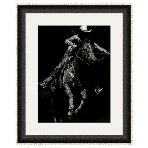 Wyoming Rodeo II Framed Art