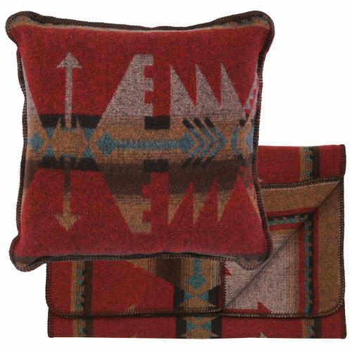 Yellowstone III Bedscarf & Pillow Set - Queen - OVERSTOCK