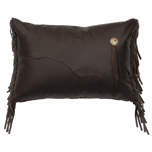 Yellowstone III Rectangular Pillow with Fabric Reverse