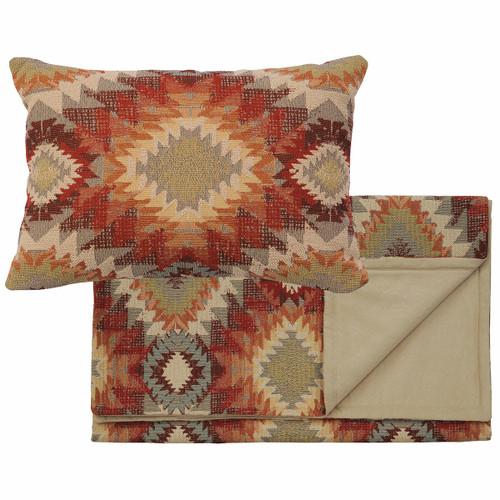 Yuma Sol Bedscarf & Pillow Set - Queen