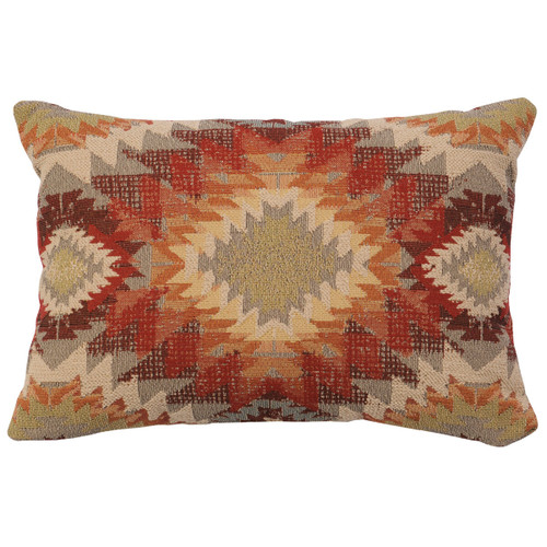 Yuma Sol Geometric Pillow