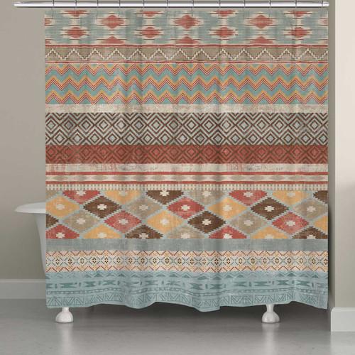Navajo Winds Shower Curtain