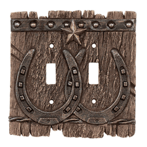 Cowboy Light Switch Covers