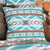 Summer Sky Turquoise Accent Pillow