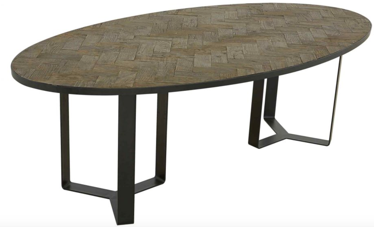 HERITAGE OVAL DINING TABLE  sc 1 st  California Living & HERITAGE OVAL DINING TABLE - California Living