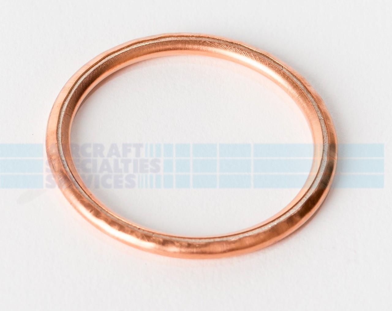 16 x Thickness 1mm ID S.8835 Copper Washers 10 x OD