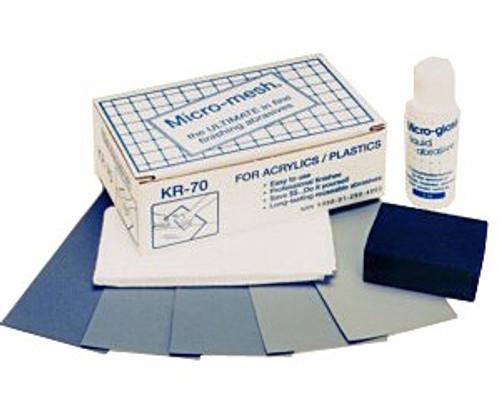 Micro-mesh KR-70 Acylic Restoration Kit - KR-70