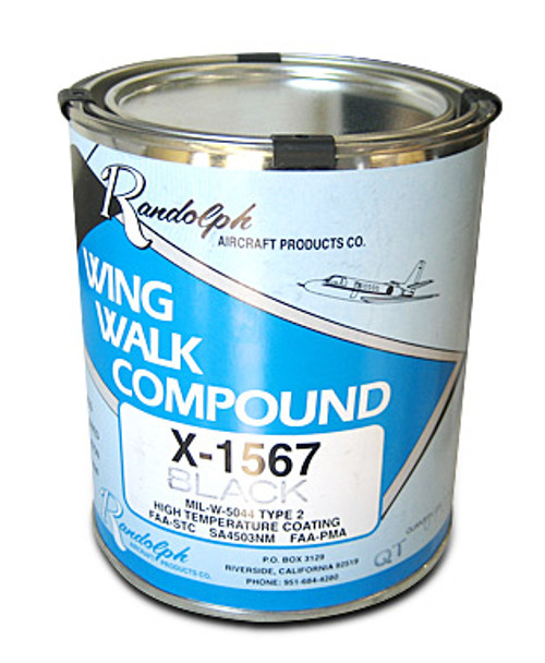 Black Wing Walk Compound (sold by the Qt) - X-1567-BLK
