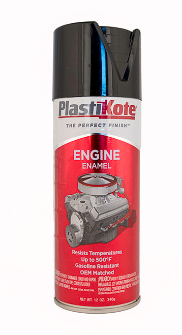 Plastikote Black Engine Enamel - 203
