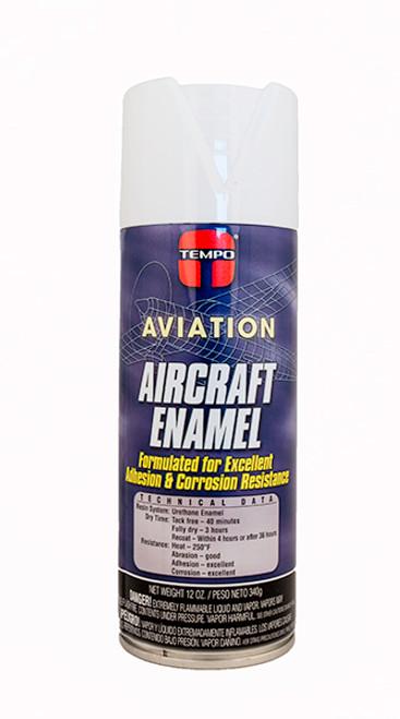 White Enamel Paint - 12 Oz. Aerosol Spray Can - A1109