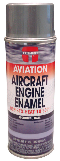 Aluminum Enamel Paint - 12 Oz. Aerosol Spray Can - A1140