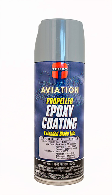 Hartzell Gray Epoxy Propeller Coating - 12 Oz. Aerosol Spray Can - A151