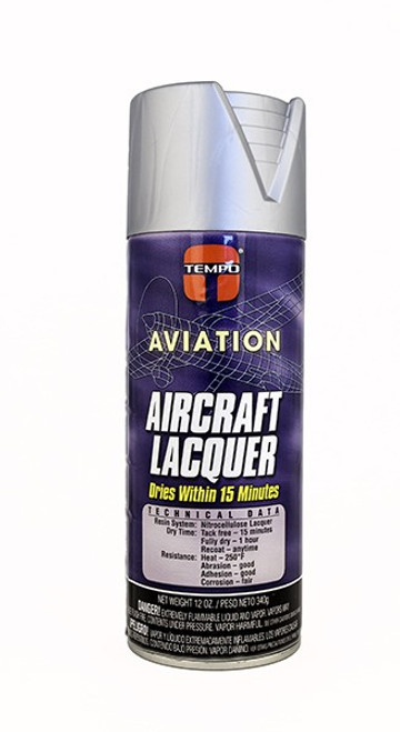 Dull Aluminum Lacquer Paint - 12 Oz. Aerosol Spray Can - A808