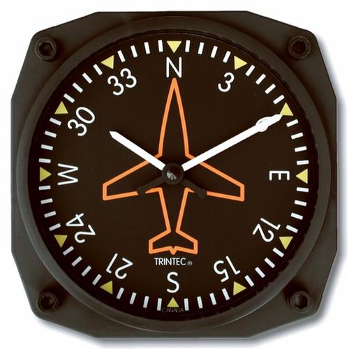 Directional Gyro Wall Clock - 9062