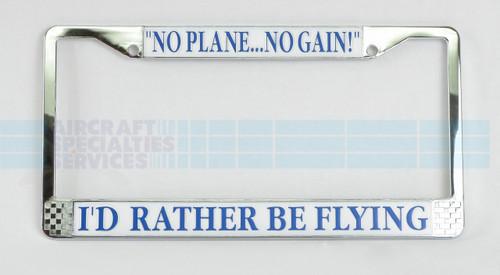 I'd Rather Be Flying Frame - FRAME-IRBF