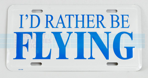 I'd Rather Be Flying Tag - TAG-IRBF