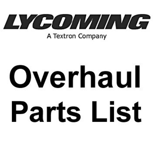 Continental At Overhaul 100 Parts Replacement List Engine