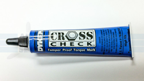 Cross-Check Blue Torque Mark - 83318