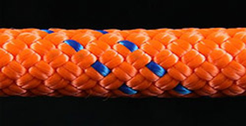 Orange/Blue Slidedown Tie Down Ropes 7/16 - 33701