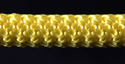 Yellow Slidedown Tie Down Ropes 7/16 - 33703