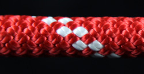 Red/White Slidedown Tie Down Ropes 7/16 - 33707